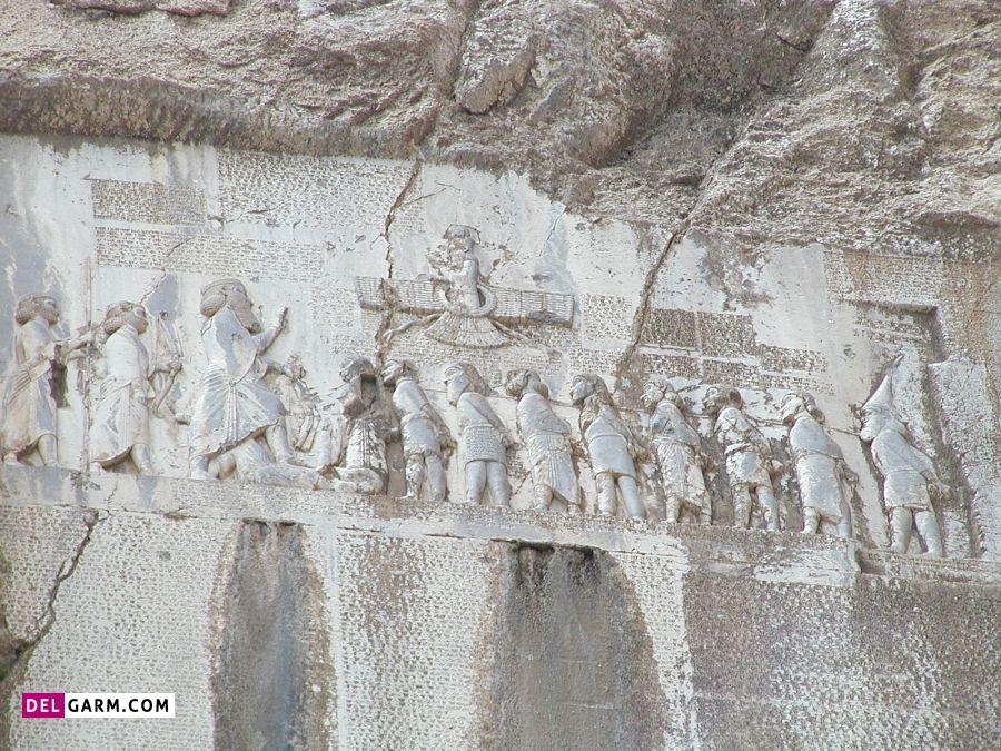 سنگ هایی با خطوط پهلوی از تاریخی ترین آثار کرمانشاه