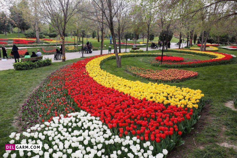 باغ گلها یکی از منحصربه فردترین باغ ها در کرمانشاه