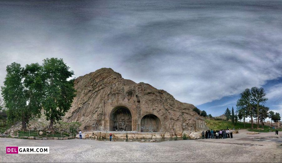 قلعه و برج خاموشی از جاذبه های دیدنی کرمانشاه