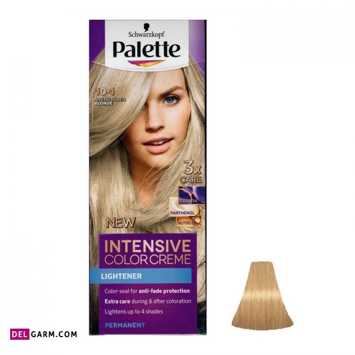 1. کیت رنگ موی پلت سری Intensive