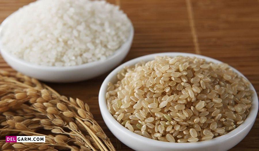 فواید برنج قهوه ای برای درمان و سلامت بدن