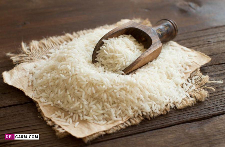 فولات موجود در برنج سفید
