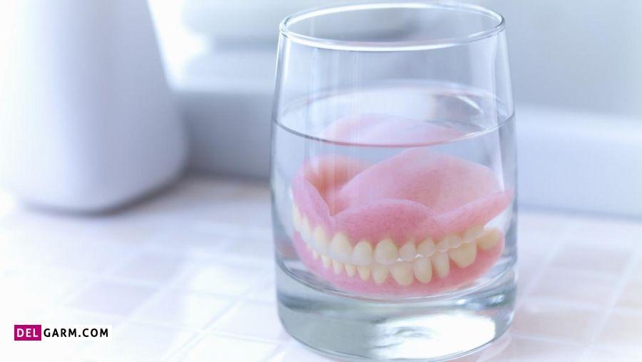 نبایدها برای مراقبت از دندان مصنوعی
