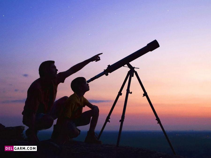 آیا کاربر تلسکوپ اطلاعات اولیه نجومی دارد؟
