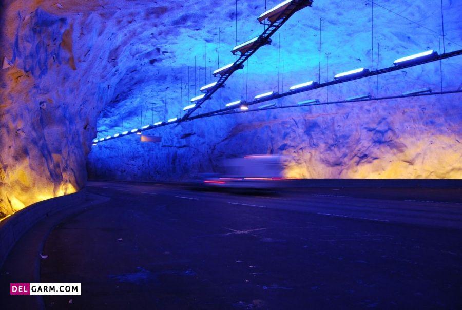 تونل لائِردال ـ نروژ