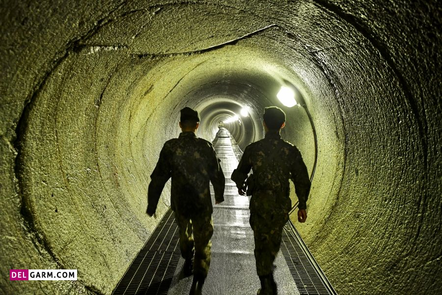 10. تونل کره شمالی ـ منطقه غیرنظامی کره