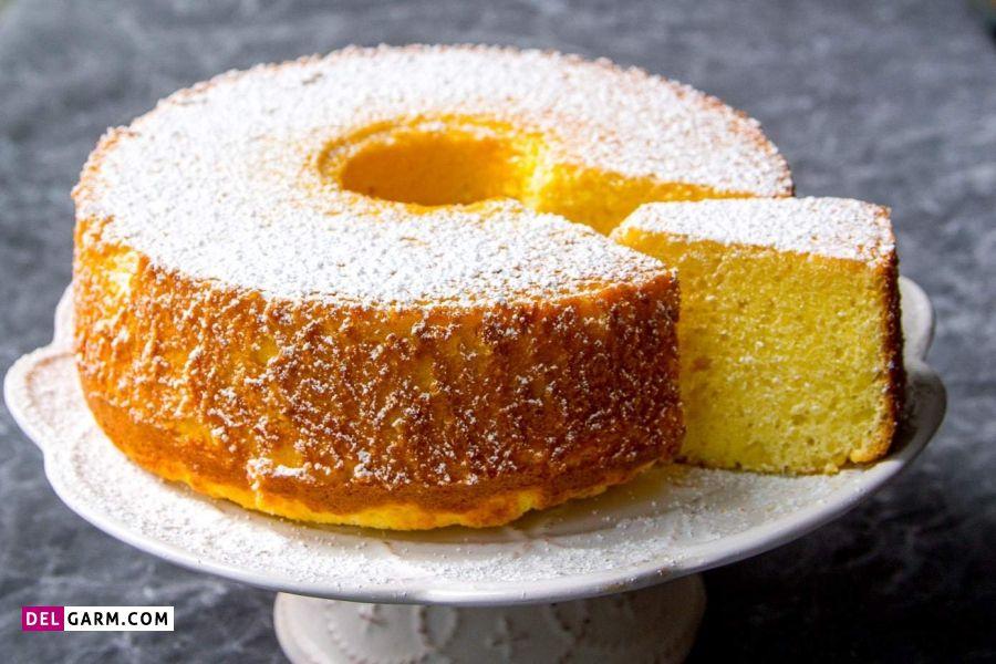 مواد لازم برای کیک شیفون