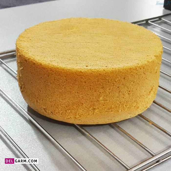 طرز تهیه کیک شیفون برای خامه کشی