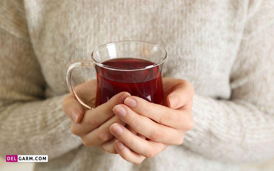 نوشیدن چای به همراه عسل جهت درمان سرفه شبانه
