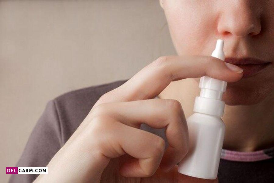 استفاده از اسپری بینی سالین جهت درمان سرفه های شبانه