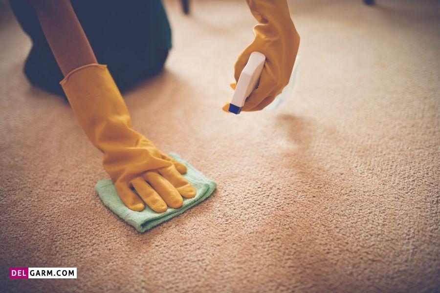 4 راهکار برای پاک کردن لکه شیر و بوی بد آن از روی فرش