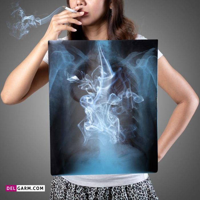دوری از استعمال دخانیات برای داشتن ریه سالم