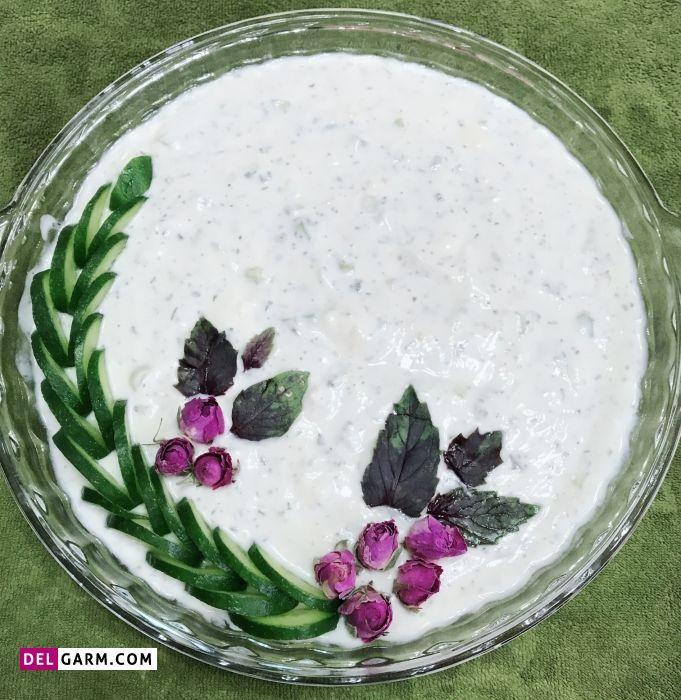 طرز تهیه آب دوغ خیار خوشمزه به روش سنتی