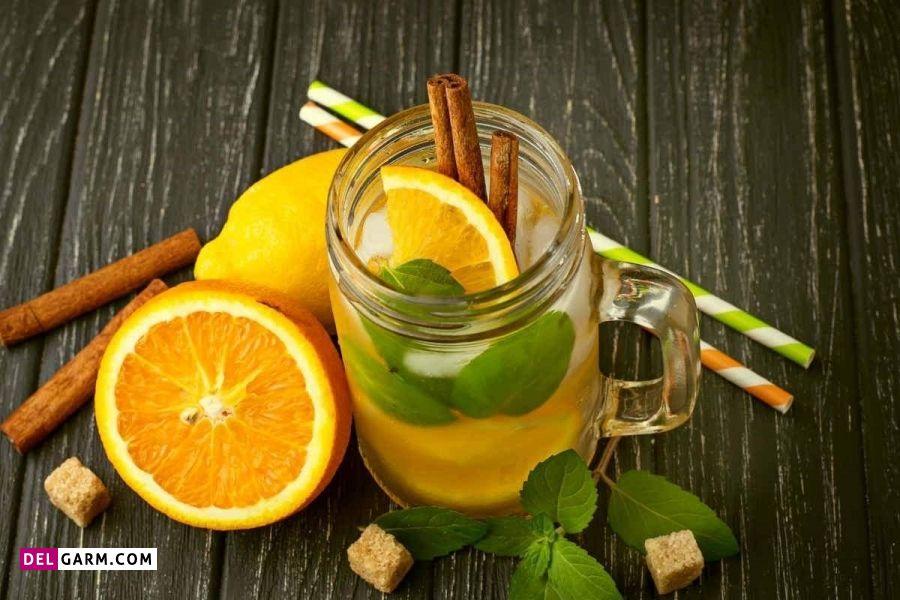 طرز تهیه شربت لیموناد پرتقال