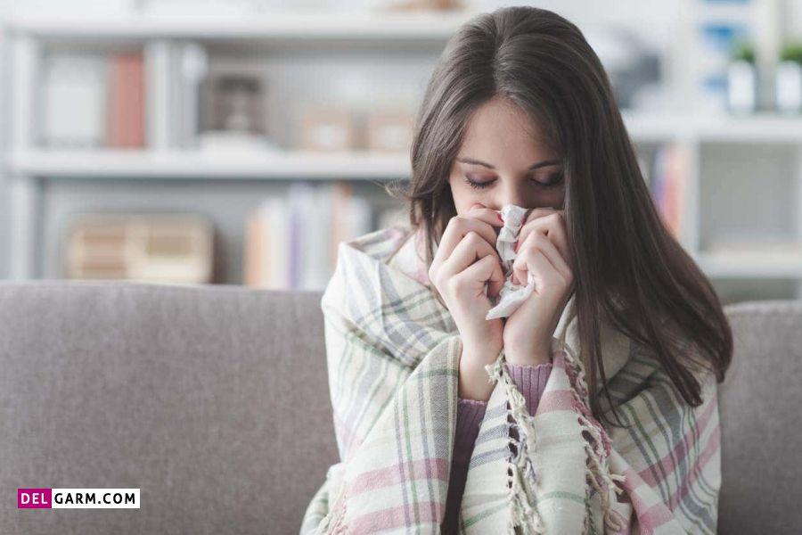 علائم آنفولانزای پریود