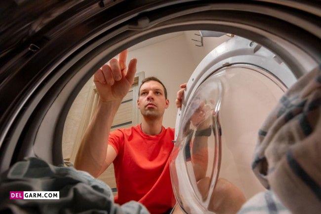 علت خشک نکردن ماشین لباسشویی