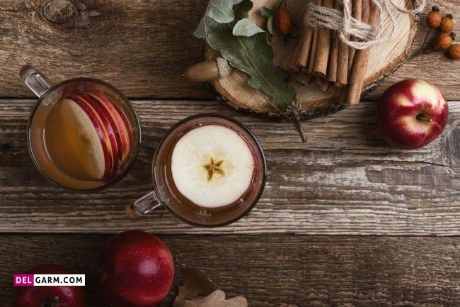 فواید جوشانده پوست سیب