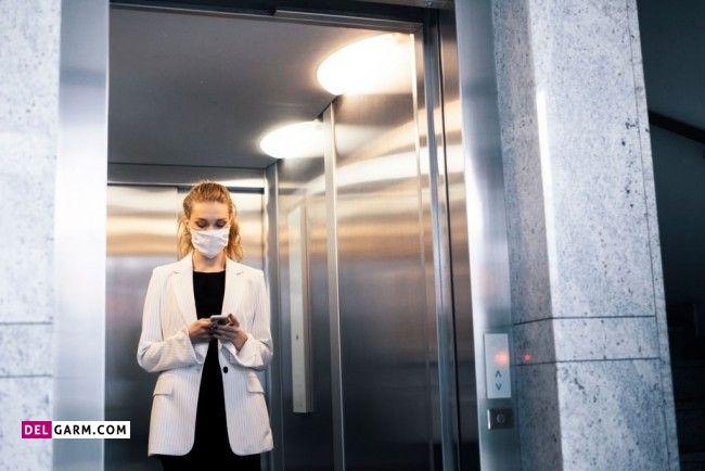 بسته نشدن درب آسانسور  چه علتی دارد ؟