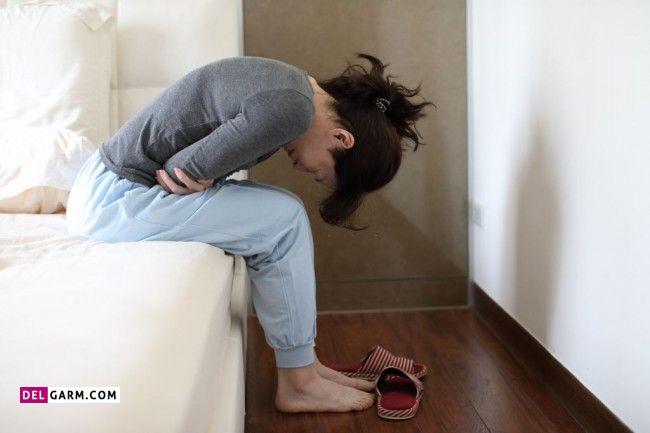 درمان نفخ پریودی