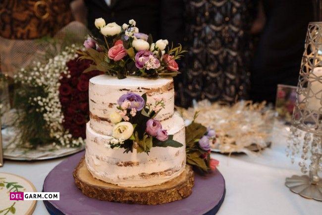 تزیین رمانتیک کیک