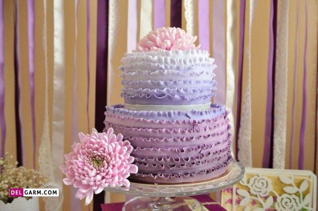 مدل کیک ویژه مجالس عقد و عروسی