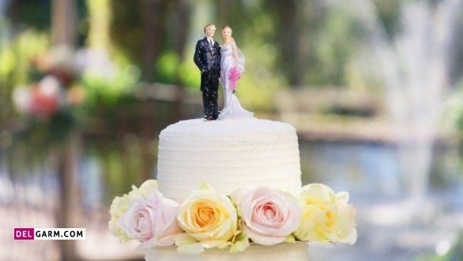 کیک دو طبقه
