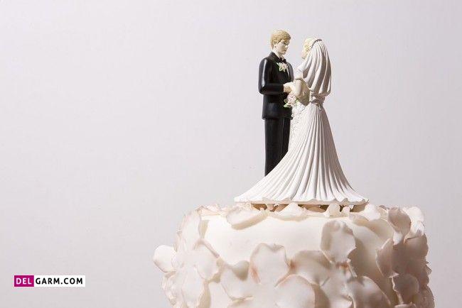 تزیینات عاشقانه کیک