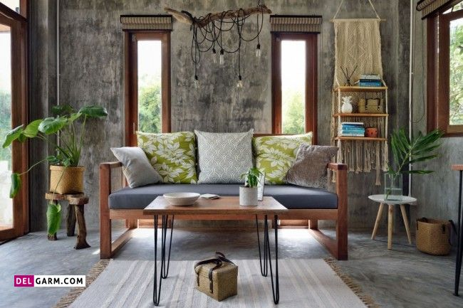 میز قهوه خوری ساده و زیبا