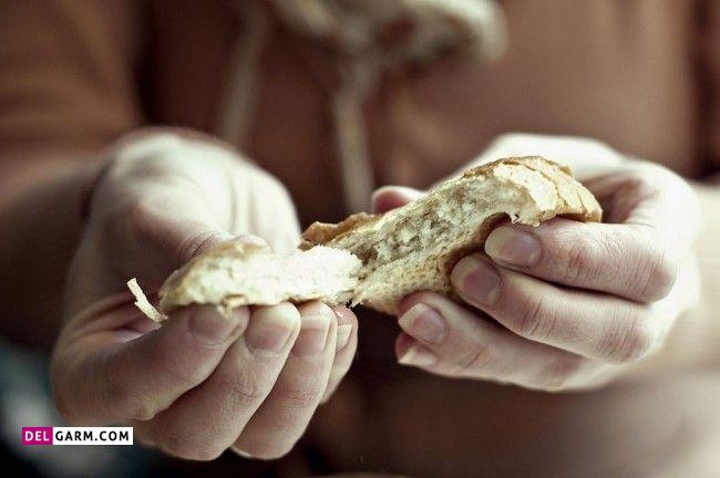 نان باعث چاقی شکم می شود؟