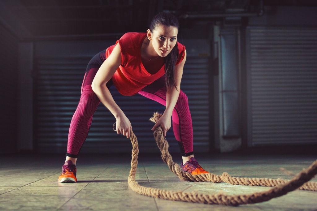 ورزش با بتل روپ (Battle Rope)