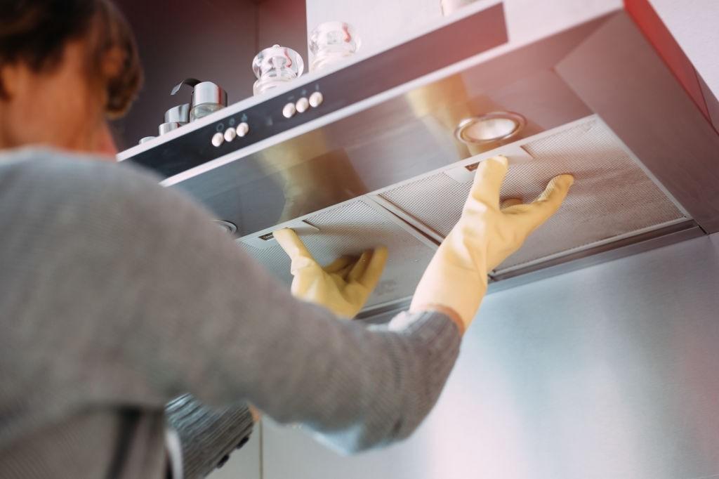 علت و رفع کم شدن مکش هود آشپزخانه