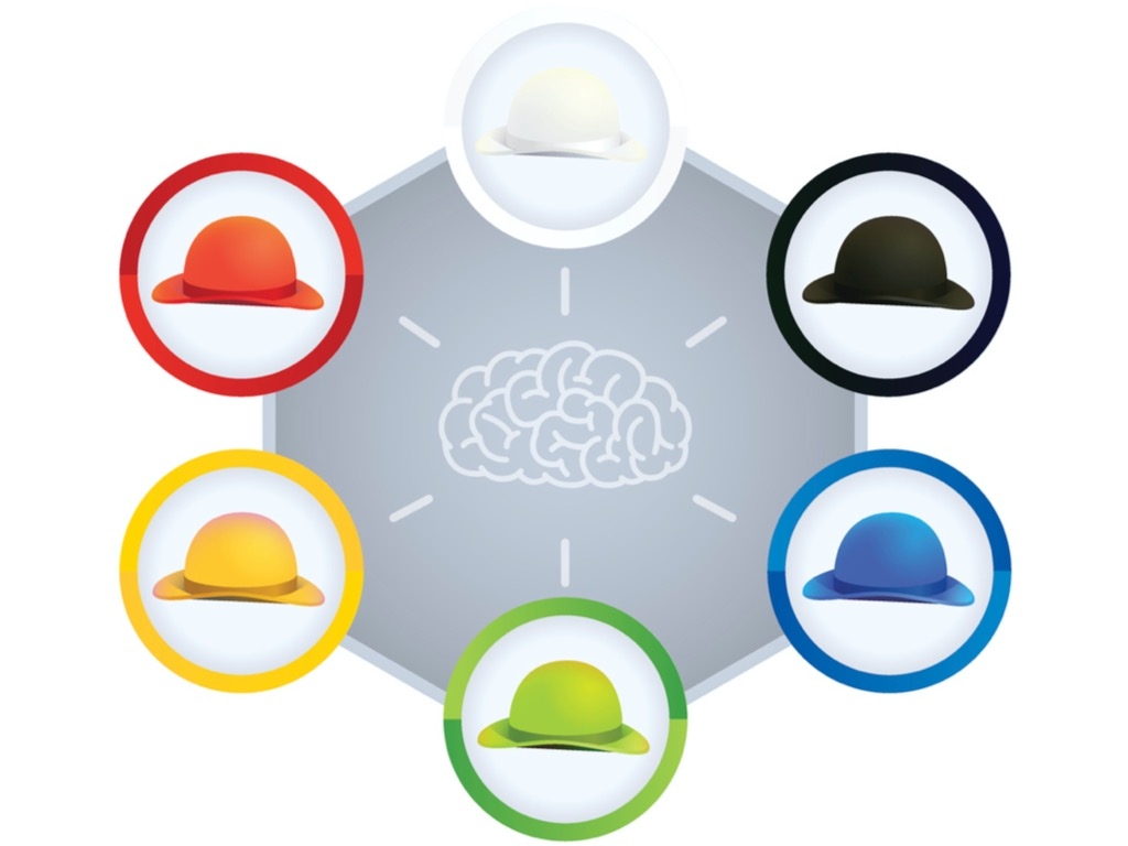 تکنیک مدیریتی شش کلاه تفکر