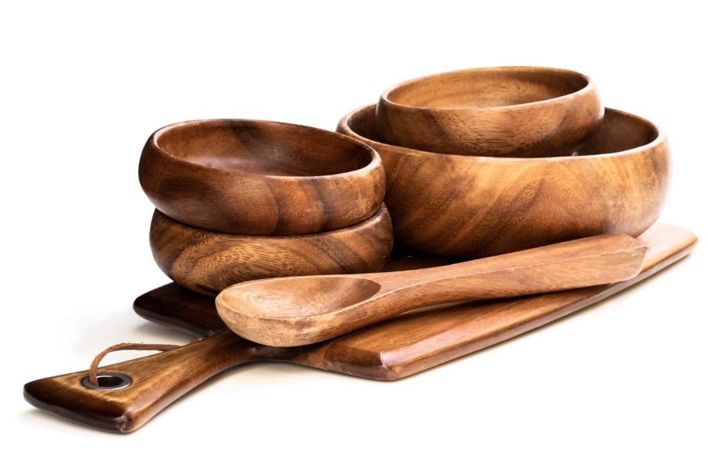 انواع چوب مناسب برای ساخت ظروف چوبی