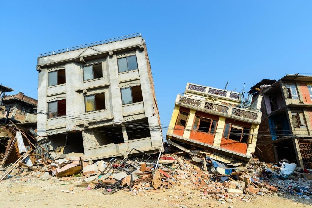 مکان های امن در هنگام زلزله