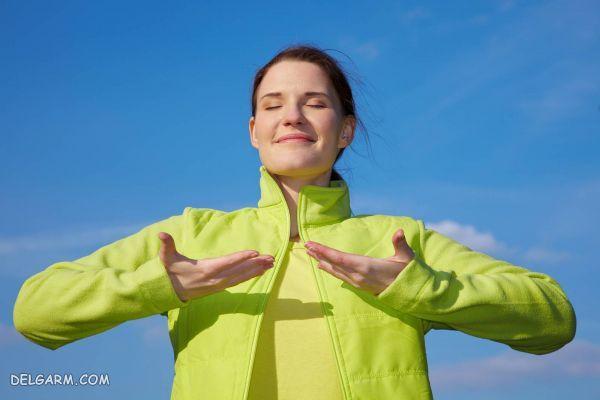 درمان تنگی نفس در منزل