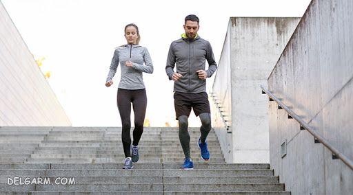 برای ورزش از پله استفاده کنید