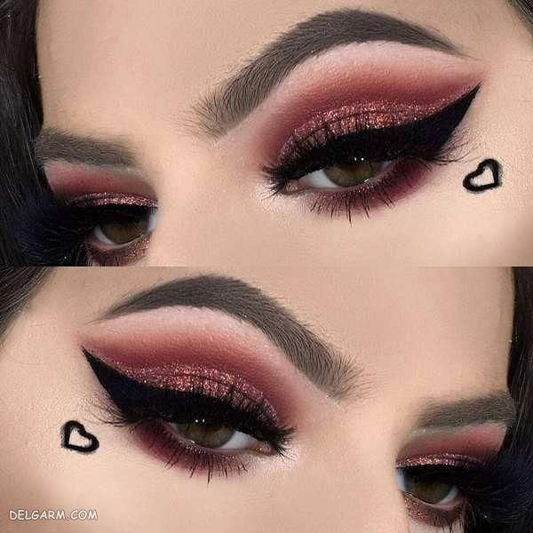 مدل آرایش چشم جدید ۹۹