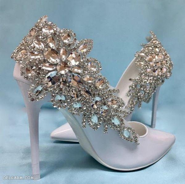 کفش مجلسی نگین دار  2020