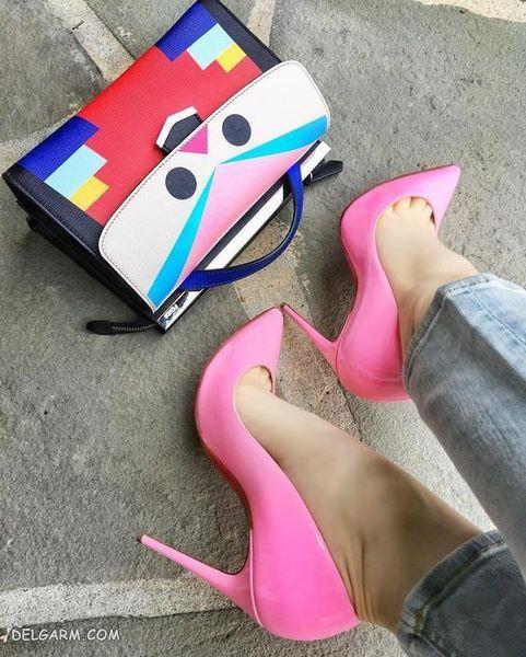 مدل کیف و کفش ست مجلسی