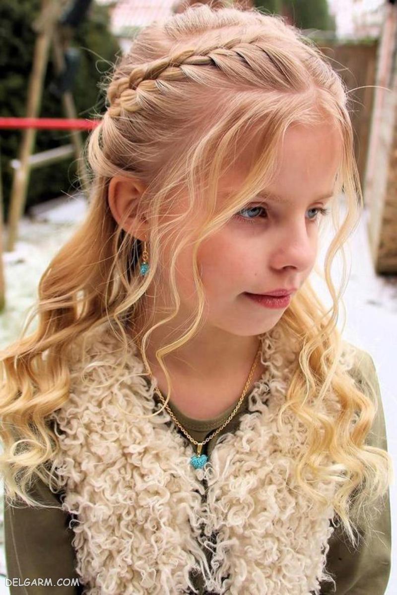مدل مو دخترانه ( کودک )