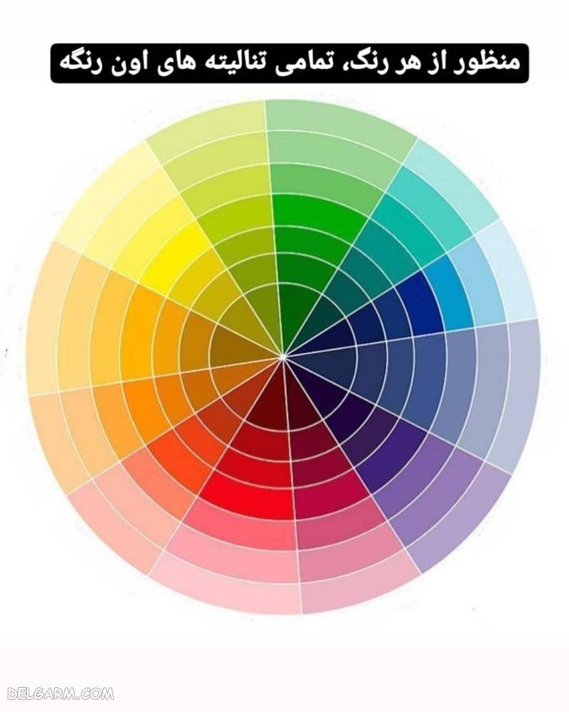 ست کردن رنگها