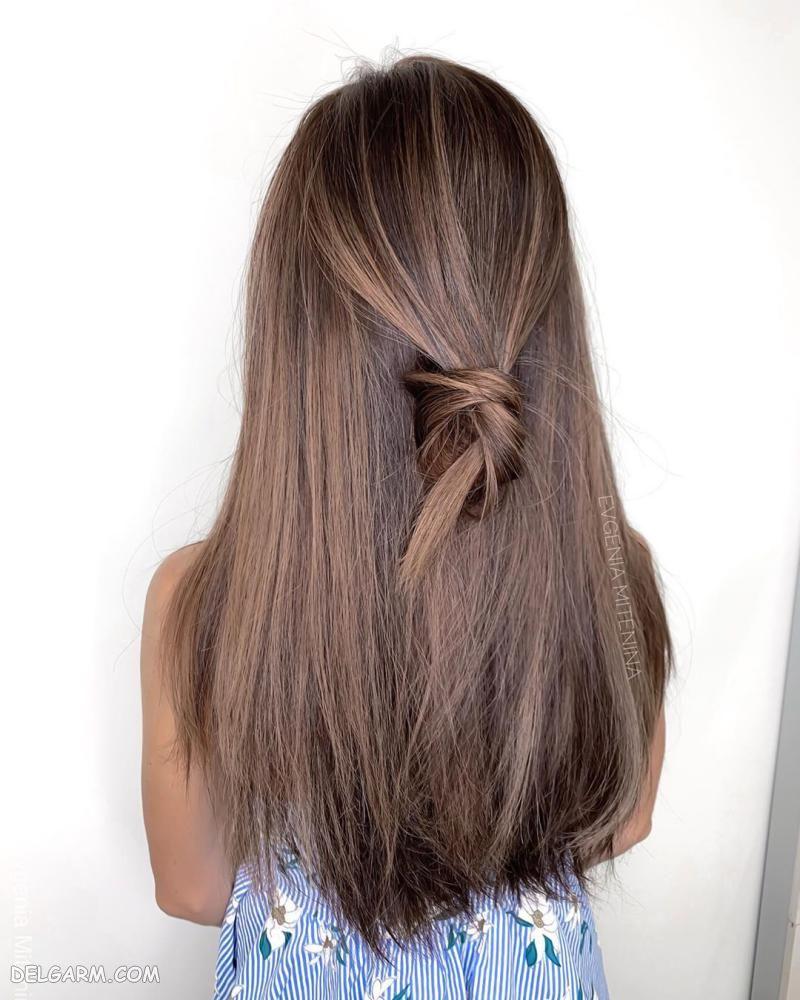 رنگ مو تیره