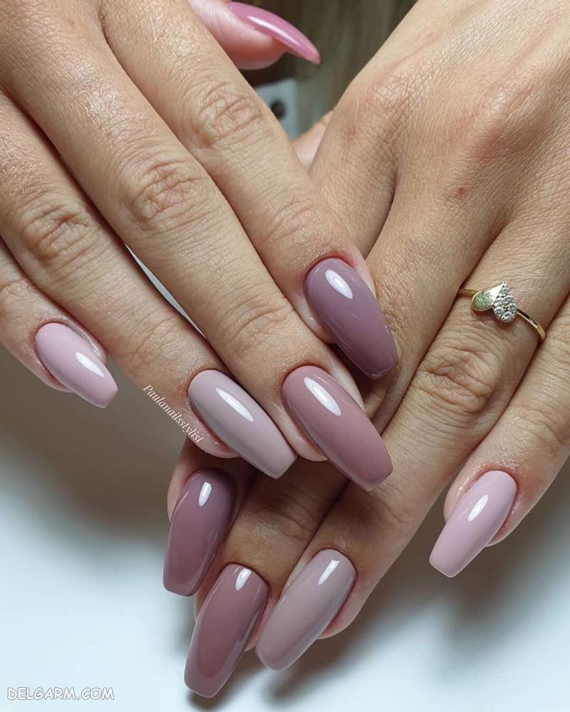طراحی ناخن زنانه جدید