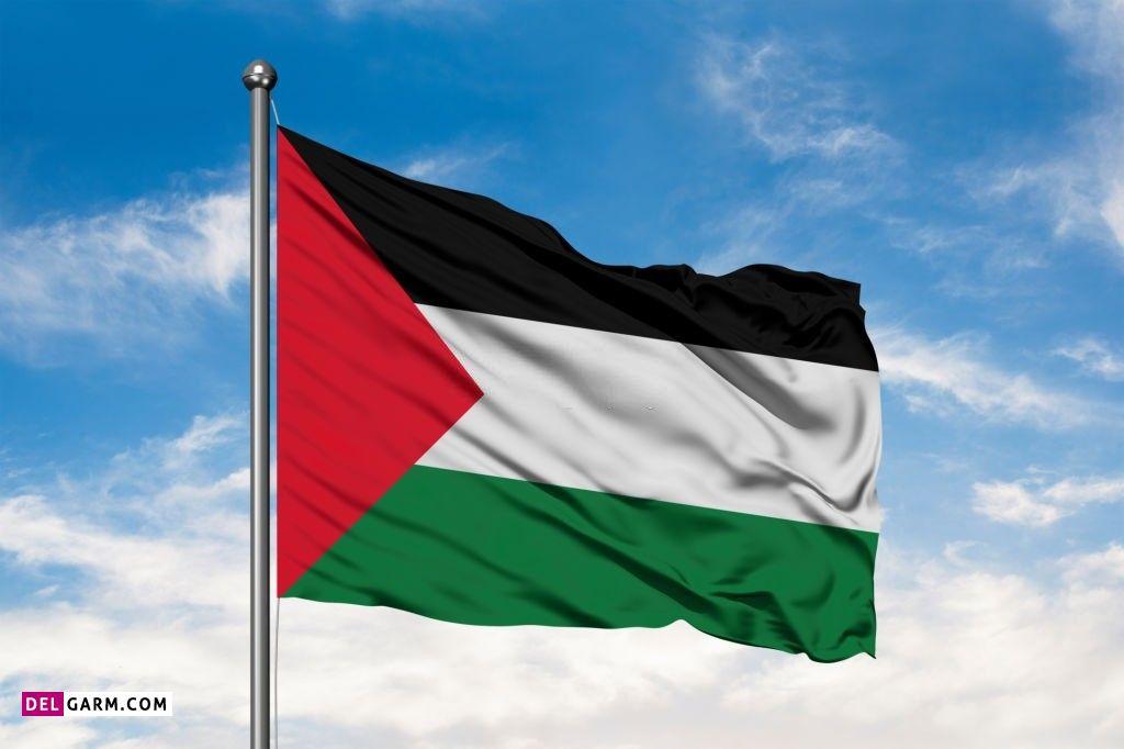 عکس پرچم فلسطین / عکس پرچم قدس