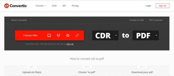 تبدیل فرمت cdr