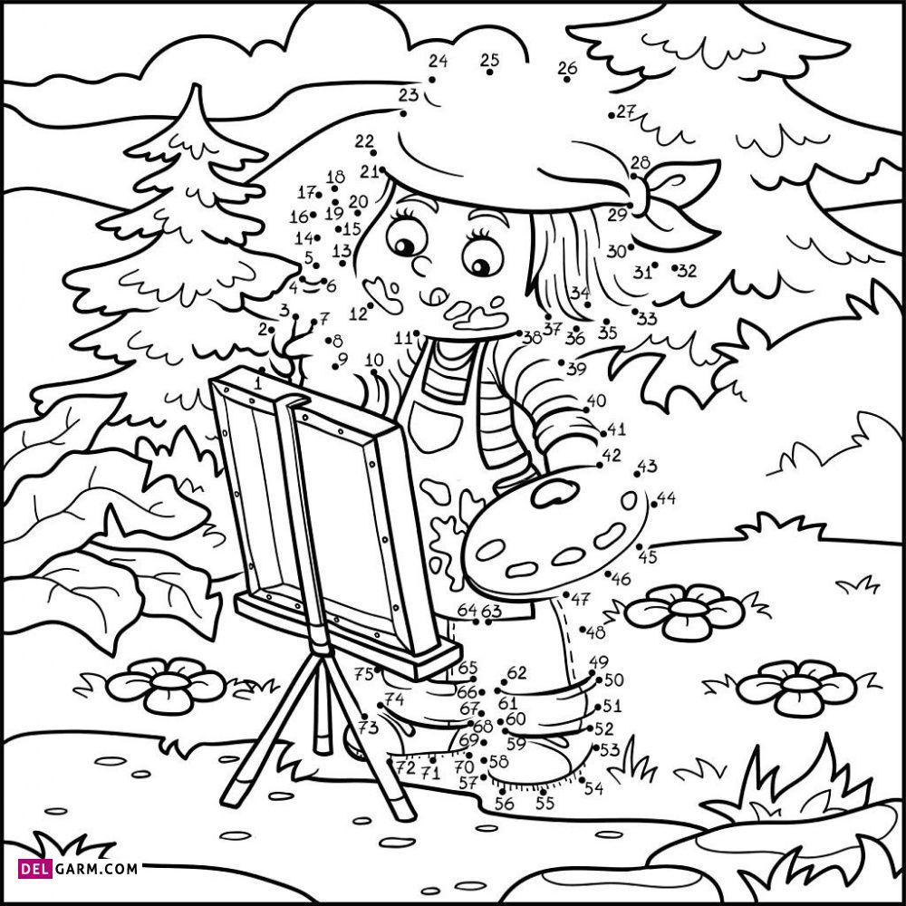 نقاشی تابستان / نقاشی و رنگ آمیزی تابستان