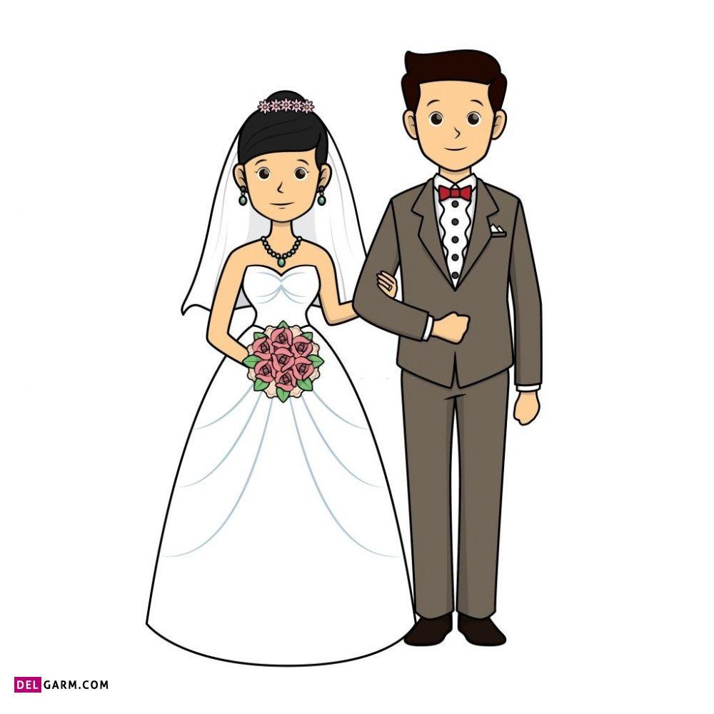 نقاشی عاشقانه ساده