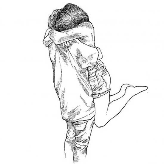 40 نقاشی عاشقانه، جذاب و رومانتیک (دختر/ پسر)