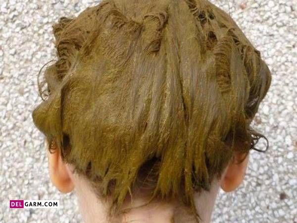 رنگ موی طبیعی با حنا