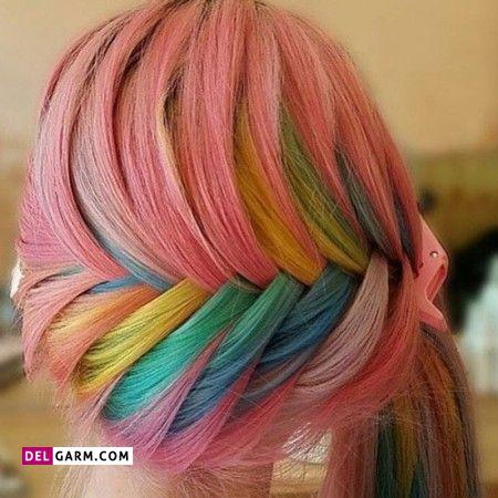 رنگ موی هولوگرافیک چیست